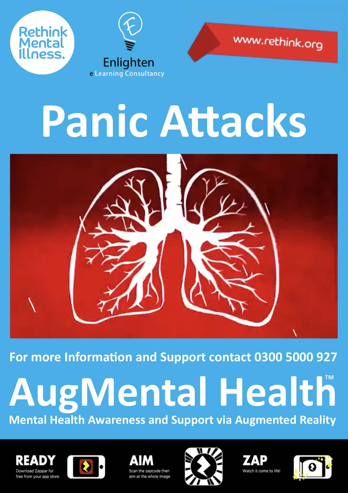 Panic Attacks Enlighten AR poster